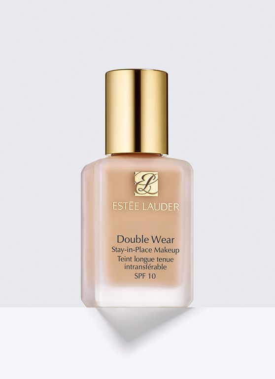Double Wear, Stay-in-Place Makeup SPF 10 in Shell, great very pale foundation for English Rose complexion