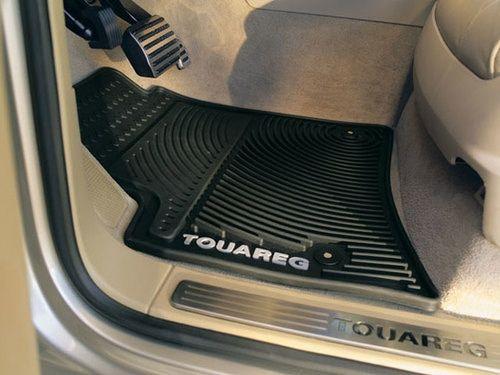 RUBBER DRIVERS FLOOR CAR MAT TAILORED VW TOURAN 16 on 2 Clip