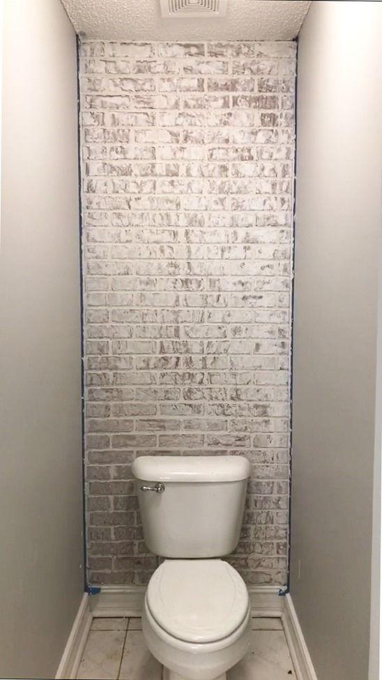 Brick Bathroom Wallpaper