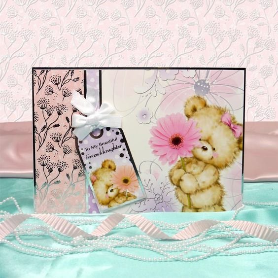 All the Girls by Hunkydory Crafts. Card made using 'A Flower for You' topper set