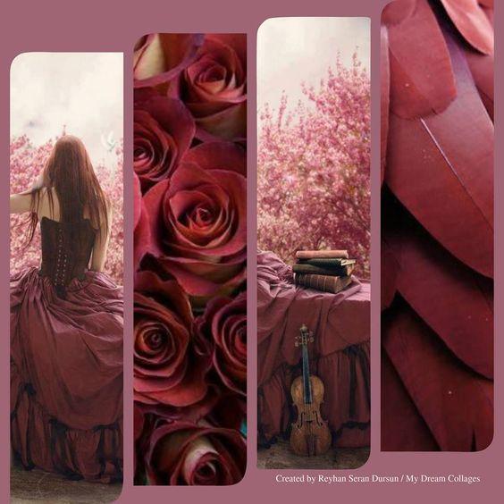 '' Marsala Color '' by Reyhan Seran Dursun