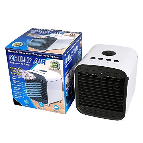 New Mini Portable Personal Air Ultra Evaporative Cooler 3 In 1 Air