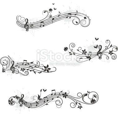 note de musique papillon port e musicale partition musicale fl tatoo pinterest note. Black Bedroom Furniture Sets. Home Design Ideas