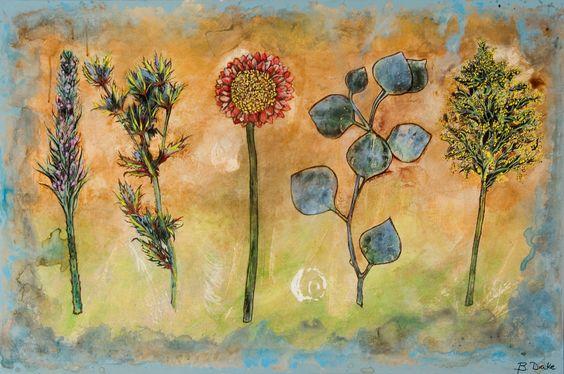 GERBER DAISY by Brenda Drake