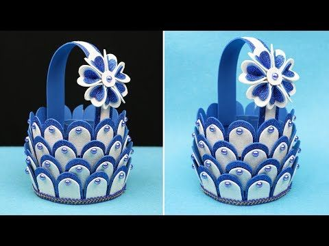 Diy Basket Making With Plastic Bottle And Foam Sheet Plastic Bottle Craft Diy Crafts Yo Plastic Bottle Crafts Diy Diy Bottle Crafts Plastic Bottle Crafts