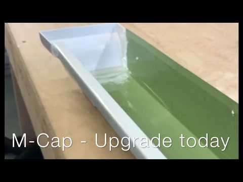 M Cap Is A Rain Gutter End Cap Which Transforms Your Gutters End Caps Into Crown Molding For A Look That Is Undeniably Gutter Accessories Rain Gutters Gutters