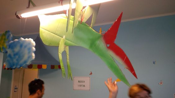 DINO party decorations pterodactyl