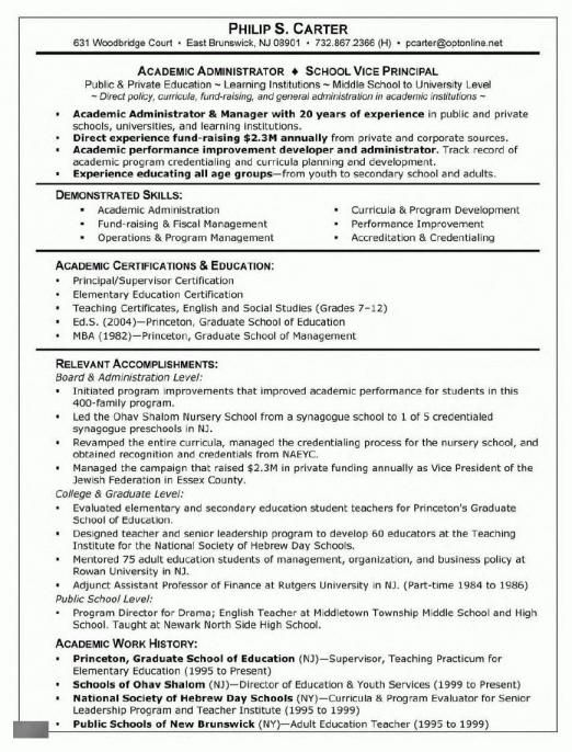 Academic Resume Sample Graduate School There Are Roughly Two