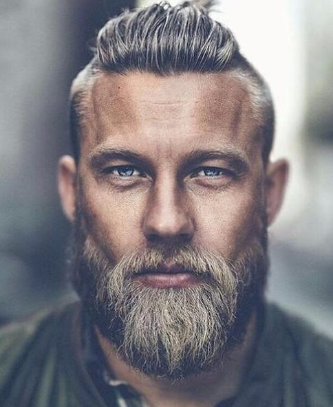 His Eyes Are Intense Wyatt Has Seen Experienced The Horrors Of What Humans Do To Each Other Does H Haircut Names For Men Older Mens Hairstyles Beard Styles