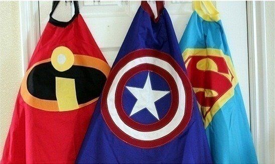 If your child wants to be a superhero, he/she will need a cape! Here are some free PDF file patterns for Superman, Captain America, and more!