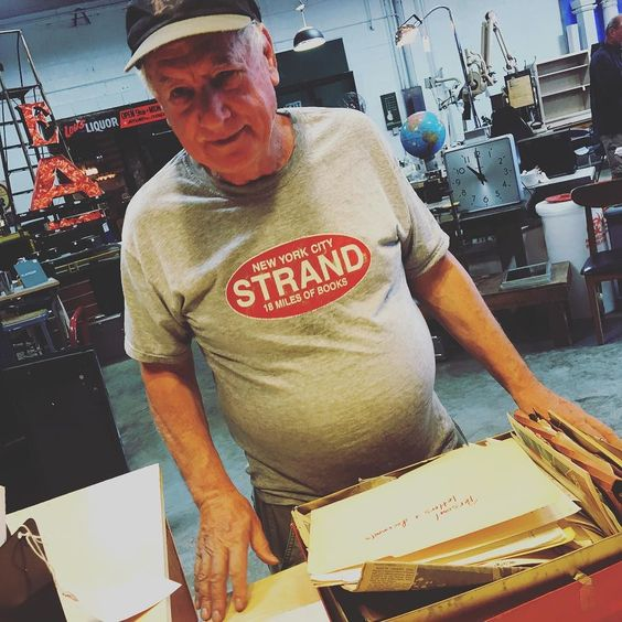 We love our customers. This is George from Brooklyn NY. He's a stamp postcard envelope and cancellation mark collector who was visiting his brother in town.
