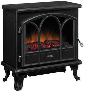 I love mine!  Duraflame Large Stove Heater, Black, DFS-750-1