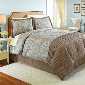 MASTER BEDROOM Better Homes and Gardens Prescott Bedding