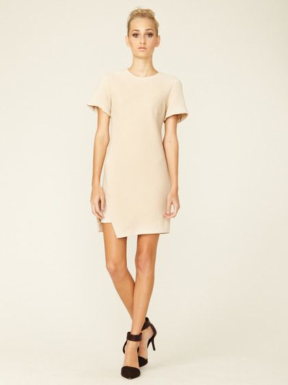 Slashed Hem Boucle Shift by 3.1 Phillip Lim
