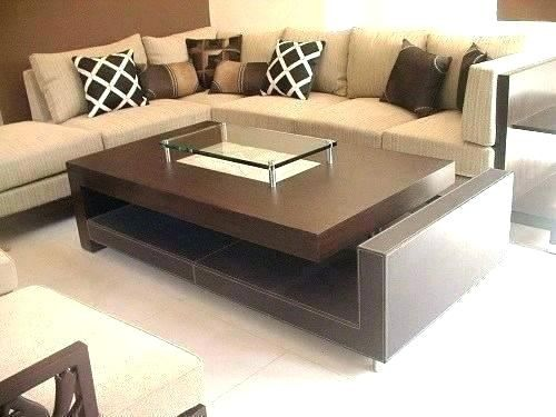 Modern Glass Center Table Design For Living Room Living Room