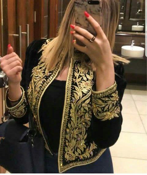 Veste en cuir femme algerie