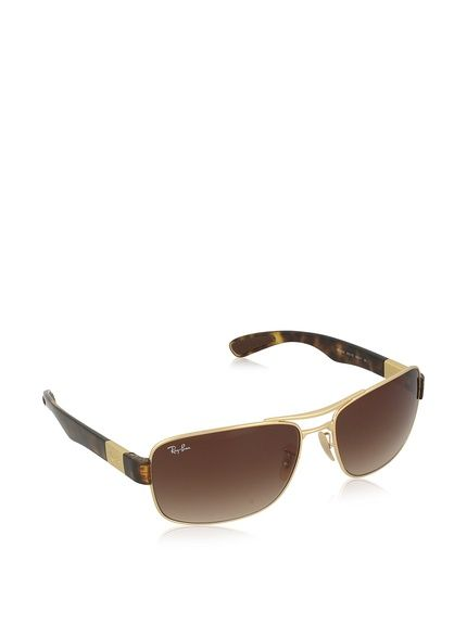 Ray-Ban Sonnenbrille RB3522 001/13 (64 mm) goldfarben bei Amazon BuyVIP