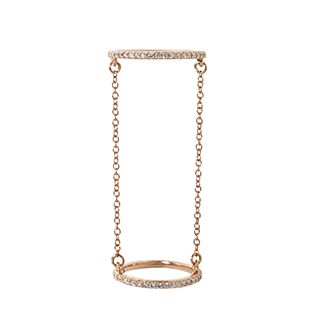 Forever Pave Chain Ring