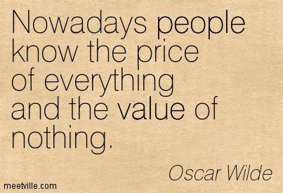 Oscar Wilde quote help!?