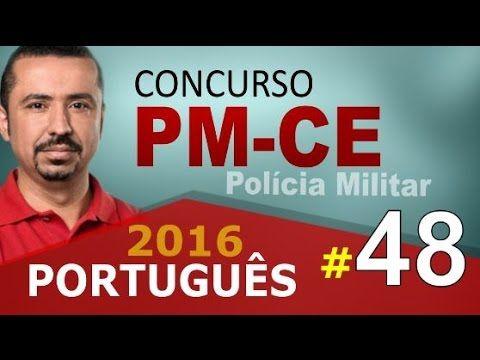 Concurso PM CE 2016 PORTUGUÊS - Polícia Militar do Ceará # 48