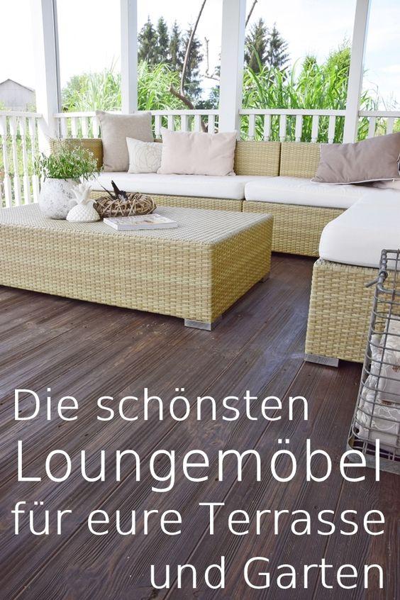 Die schönsten Loungemöbel für eure Terrasse und Garten Garten