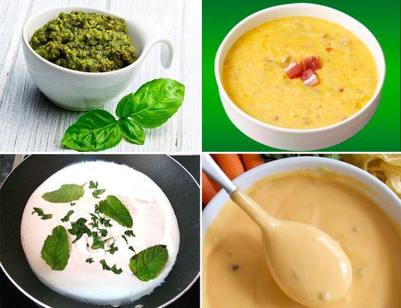 Cocina con corazón » Siete salsas para pasta sin tomate para l@s que están aburrid@s de él