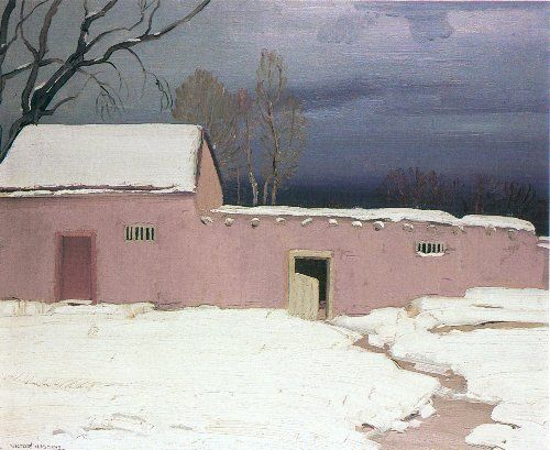 COULEURS~ Victor Higgins (American, 1884-1949) - Gray Day