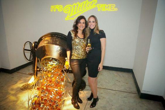 Luiza Cardoso e Paula Fragomeni