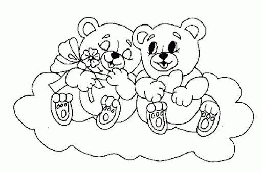 Ursinhos em cima da nuvem