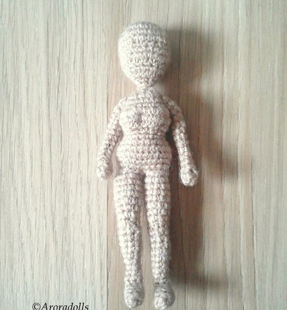 Amigurumi Crochet Basics : Amigurumi crochet Basic female body crcohet doll body ...