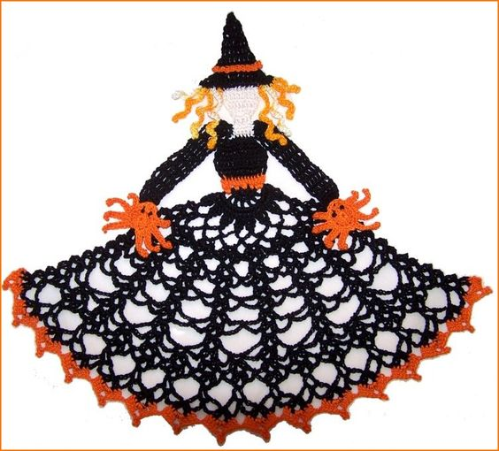 Free Crochet Patterns Halloween : Patterns, Doilies crochet and Crochet on Pinterest