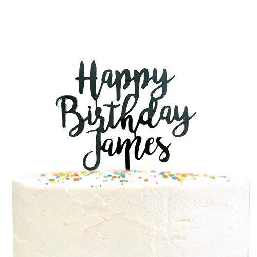 Birthday Personalised Paddle Cake Topper celebration.