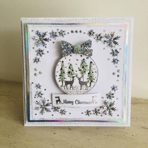 Stamps By Chloe Jul058 Winter Woodland Bauble 7 99