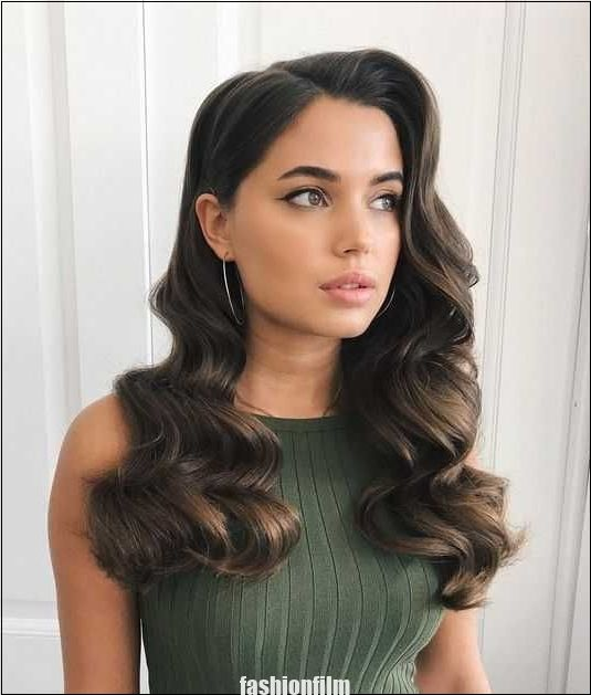 Vague Hollywoodienne Hollywoodienne Vague Coiffure Glamour Coiffure De Bal Coiffure