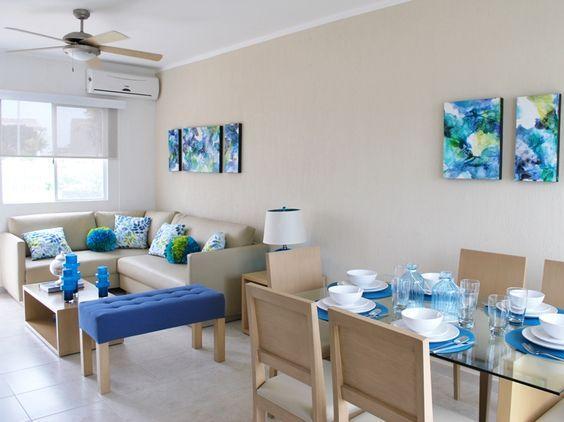 Espacios Compartidos Para Salas Pequenas4 Curso De Organizacion Del Hogar Y Decoracion De Interiores Home Decor Interior Dining Room Small