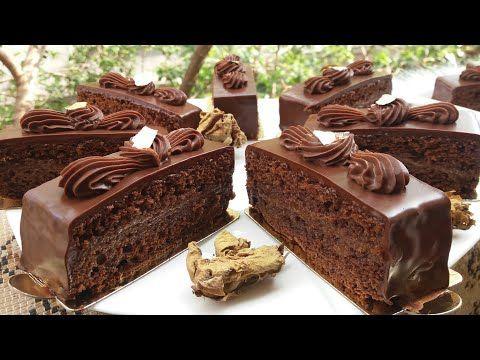 نحبكم كامل تكونو هنا الفيديو المنتظر لعشاق الشكلاطة كيكة ساشير الأصلية Sacher Youtube Mini Cakes Food Cake