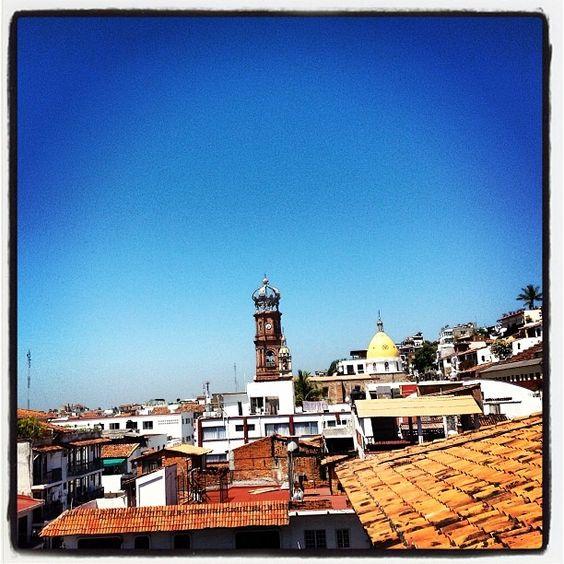 Vista a la Parroquia de Nuestra Señora de Guadalupe en #HotelCatedral #PuertoVallarta