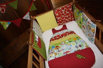 Tour de lit deco chambre bébé