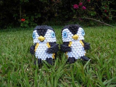 Tutorial: 2da parte Pinguino Origami 3D