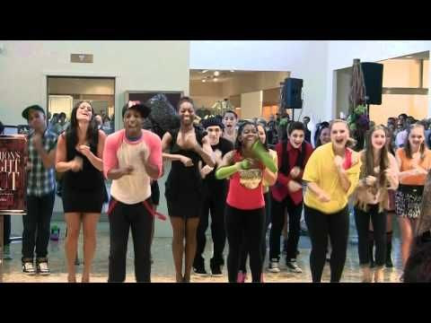 party rock anthem halloween light show video