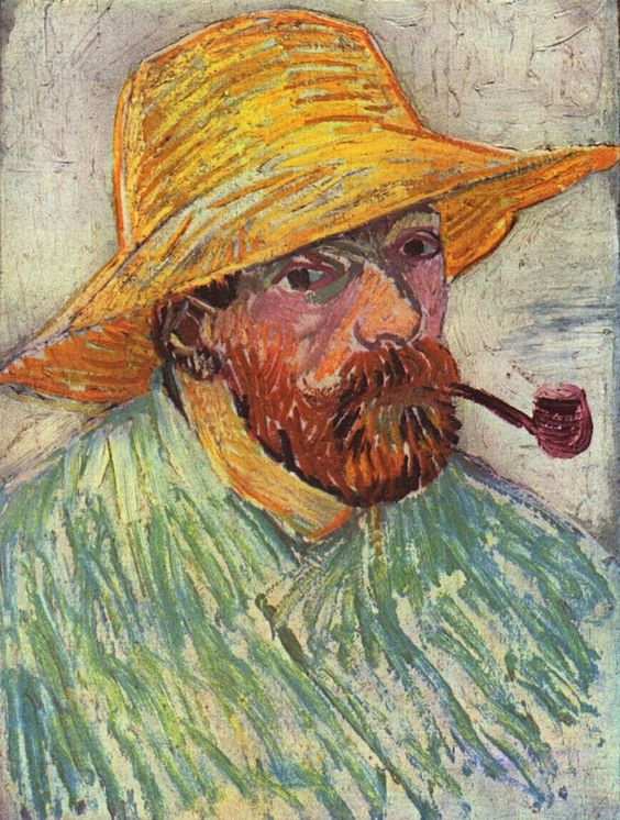 Vincent Willem van Gogh 1888, self portrait: