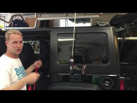 Topsy Products Hinge Hook Hoist Bracket System Review For A Jeep