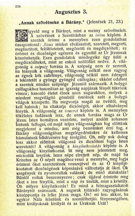 08.03 Spurgeon: Harmatgyöngyök...