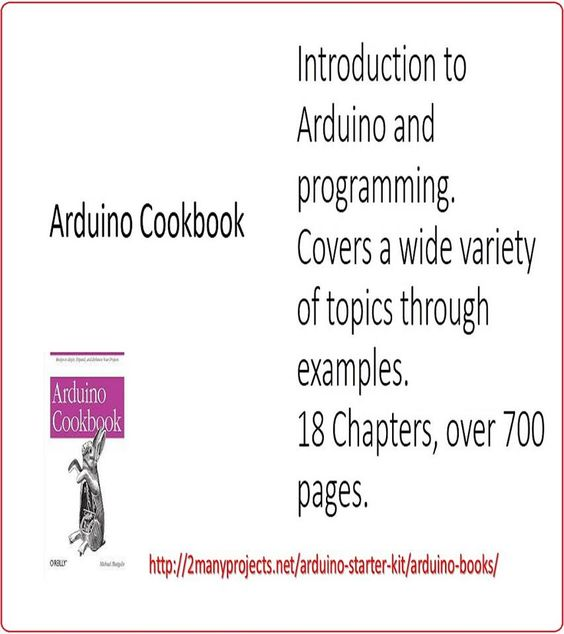 http://2manyprojects.net/arduino-starter-kit/arduino-books/  Clear cut introduction to  Arduino. Most chapters dedicated to programming. (Scheduled via TrafficWonker.com)