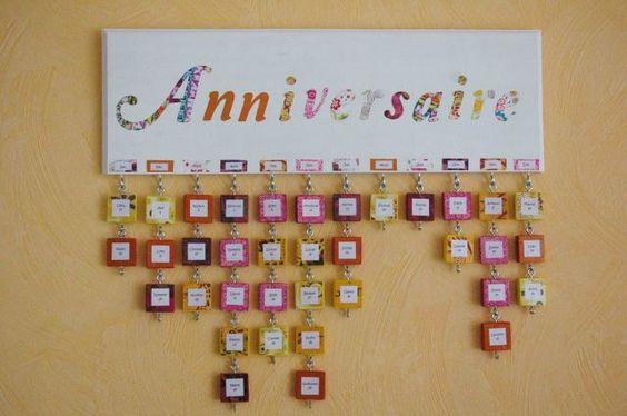 family birthday calendar ou comment ne plus oublier les anniversaires tuto inside. Black Bedroom Furniture Sets. Home Design Ideas