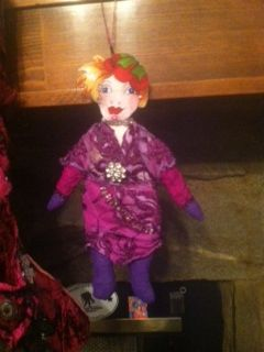 Mini me doll. Just need to do the face and hair. Until then, this is the face she gets to wear!