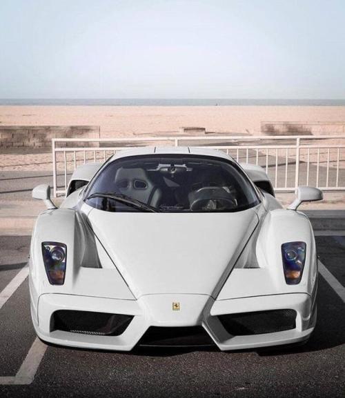 White Enzo Via Reddit Ferrari Car Ferrari Enzo Super Cars