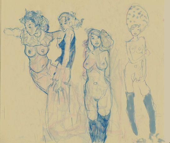 Women in blue / Mark Maggiori