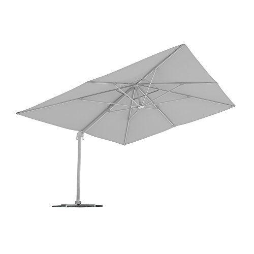 Paramondo Parapenda Parasol A Mat Excentre Parasol Deporte Pour Jardin 4 X 3m Rectangulaire Compris L Armature Et Le Pied Forant En 2020 Parasol Parasol Deporte Parasols