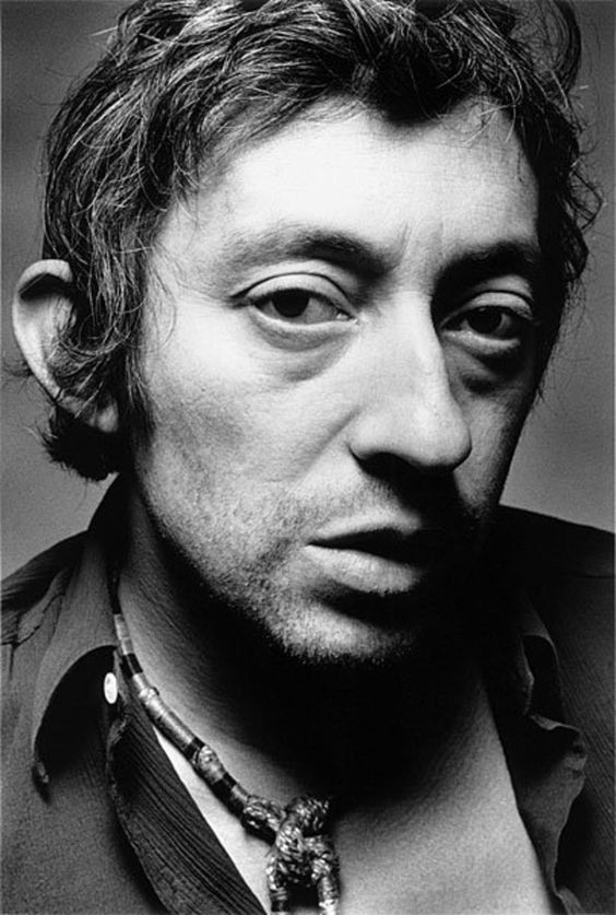 Serge Gainsbourg by Jeanloup Sieff, Paris, 1970